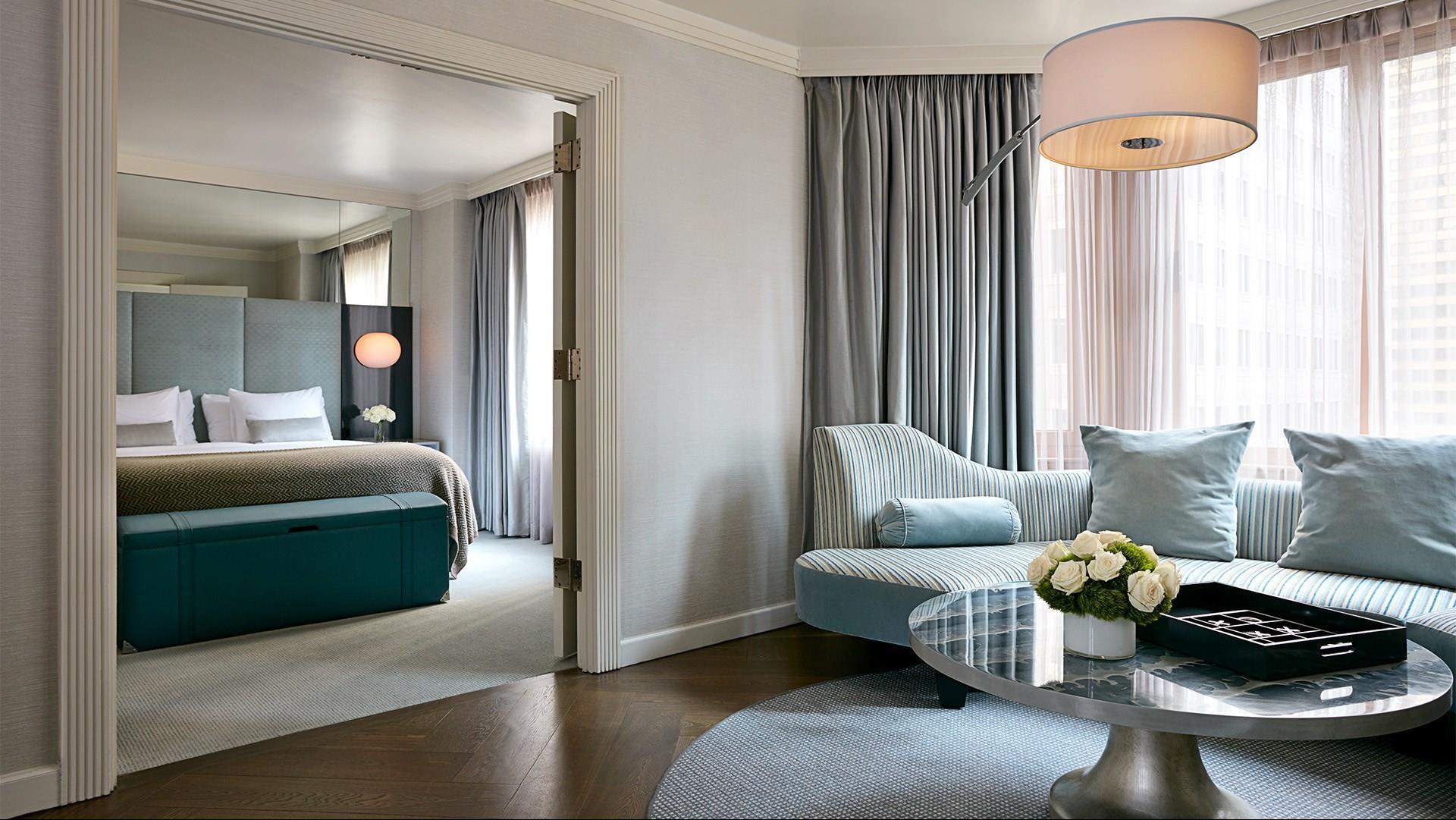 a conrad new york midtown hotel room