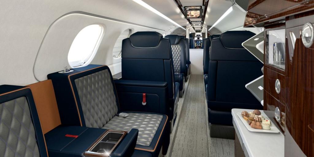 embraer bossa nova interior phenom 300e