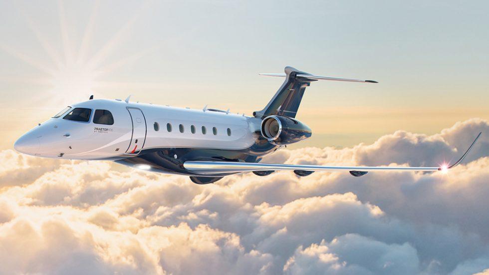 Embraer Praetor Business Jet