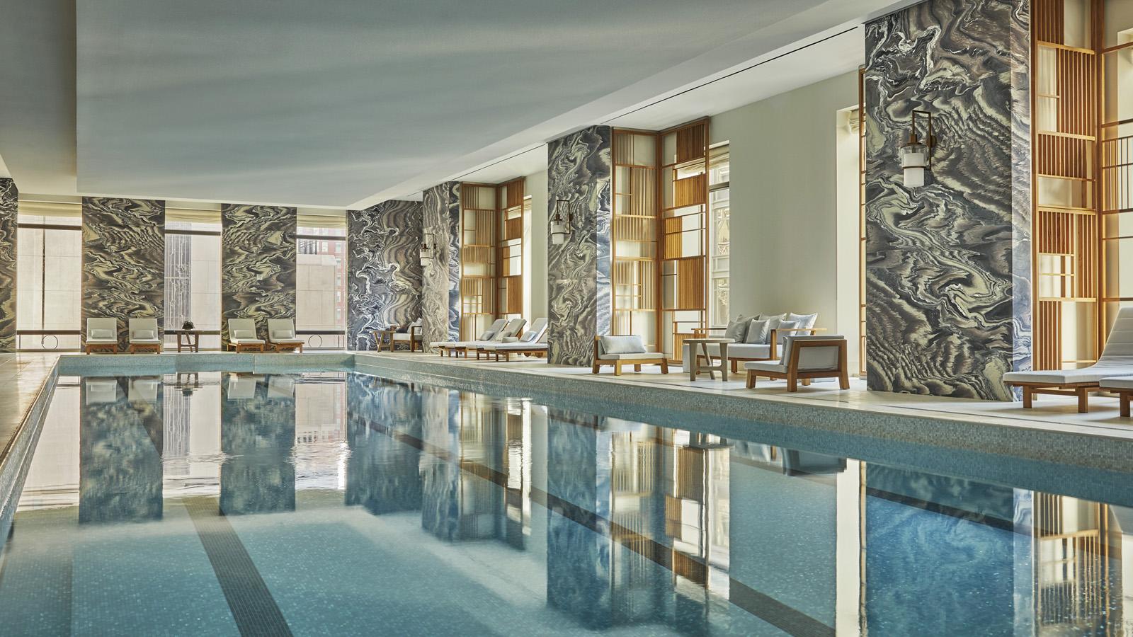 four seasons new york hotel pool