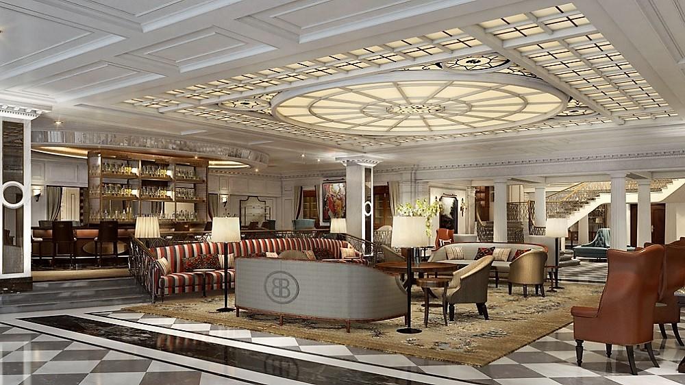 intercontinental barclay hotel new york lobby