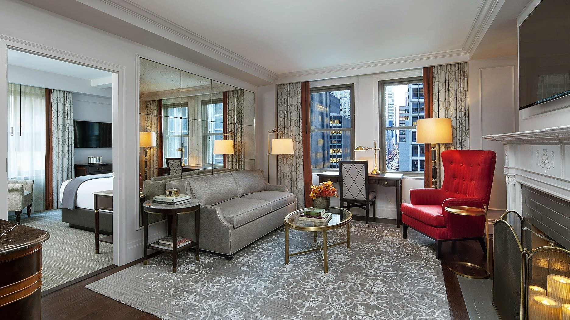 intercontinental barclay hotel new york suite