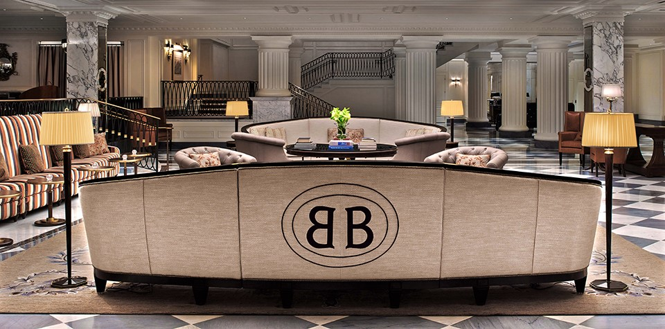 intercontinental barclay new-york lobby