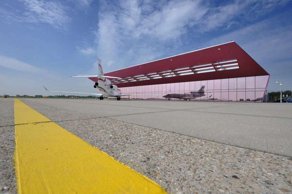 Jet Aviation FBO Amsterdam location