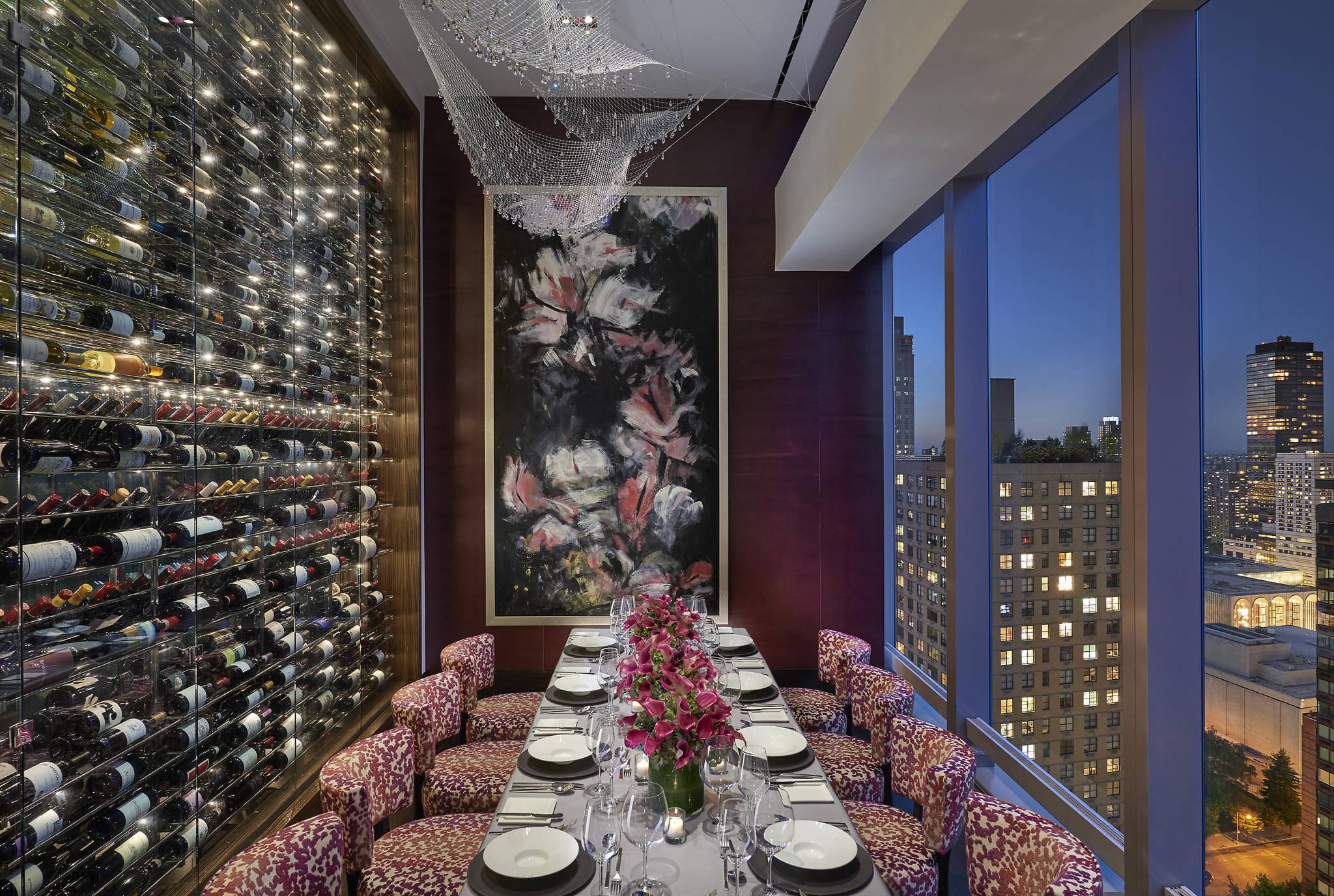 mandarin hotel new york fine dining asiate restaurant