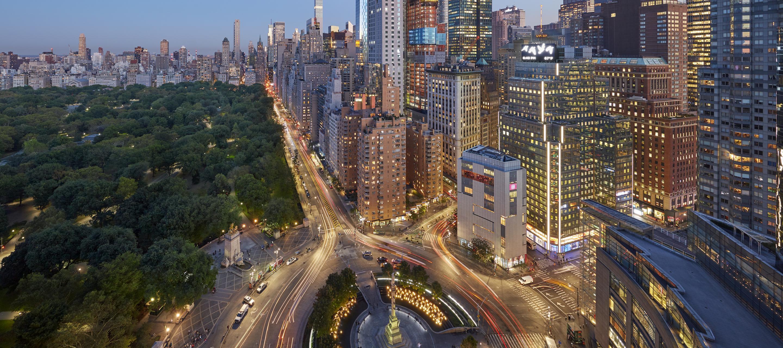 mandarin hotel new york located at columbus circle