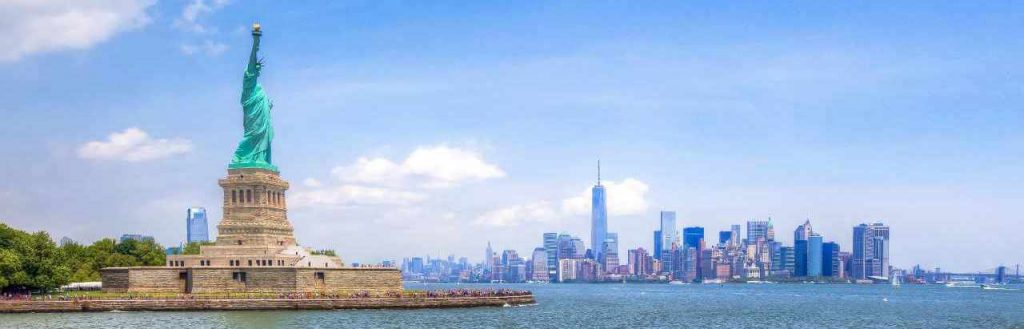 image of new york from across the water