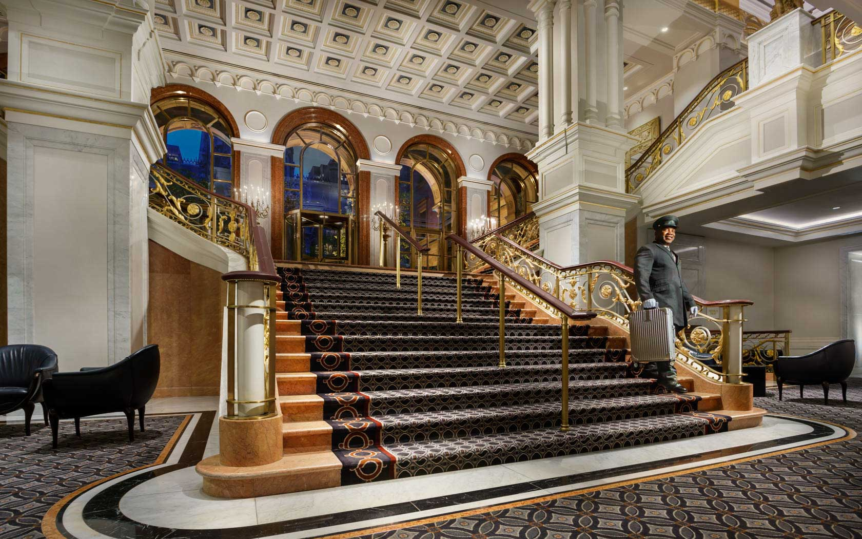 the dominick hotel new york staircase
