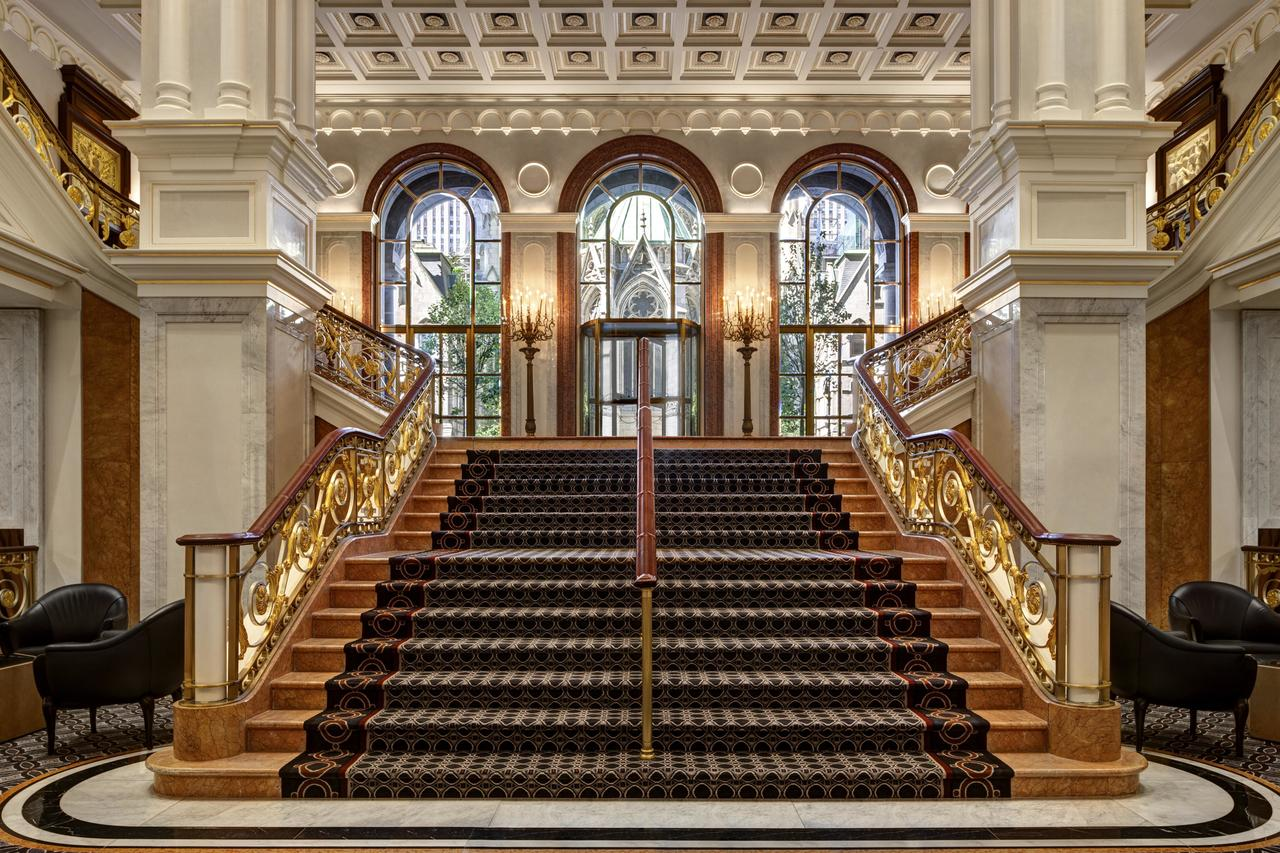the lotte hotel entrance new york