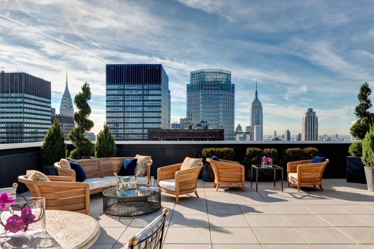 the lotte hotel new york rooftop
